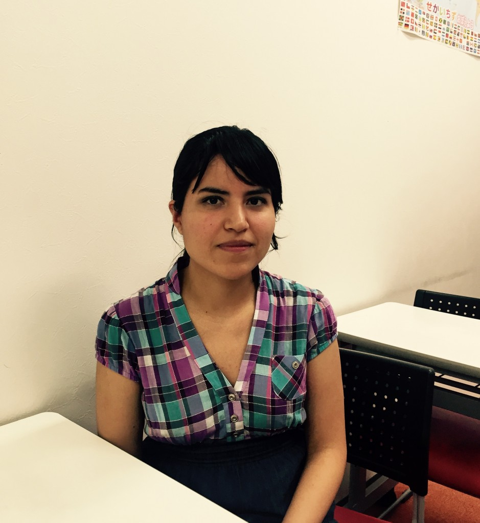 We have a new teacher from Mexico! Please welcome Alejandra!